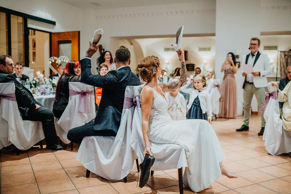 Spiele bei einer Hochzeit