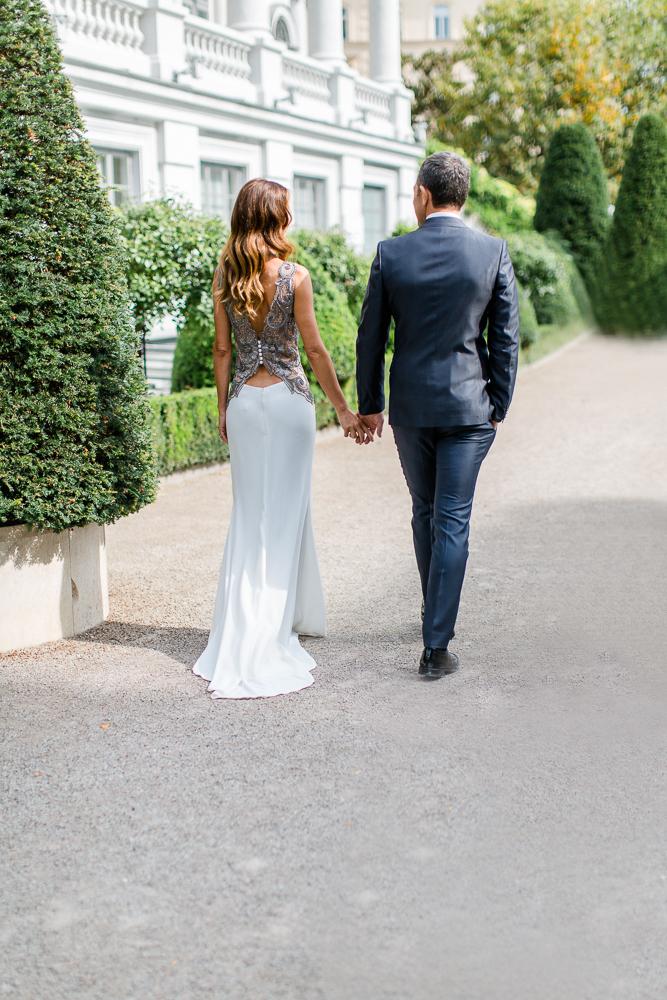 Hochzeitsfeier Palais Coburg Wien