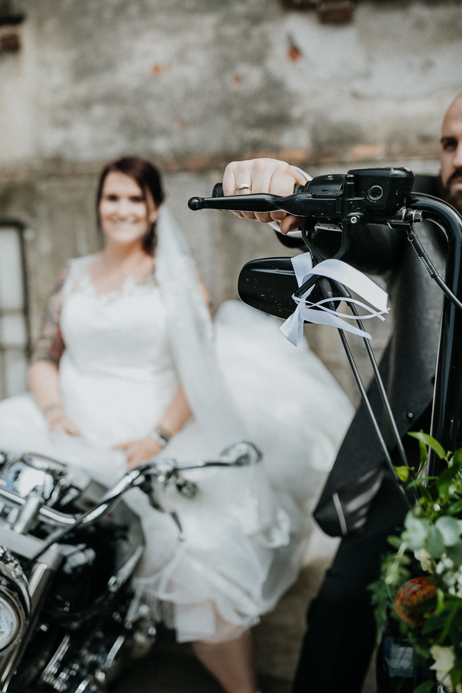 Biker Hochzeit am Neufelder See