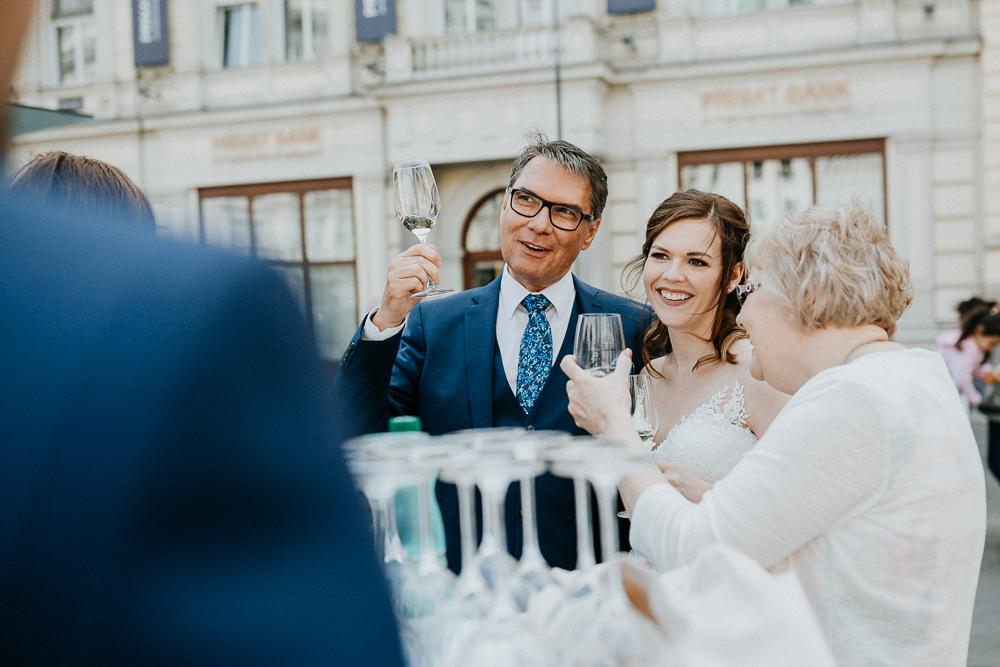 Hochzeit mit Einkehr beim Bitzinger in Wien