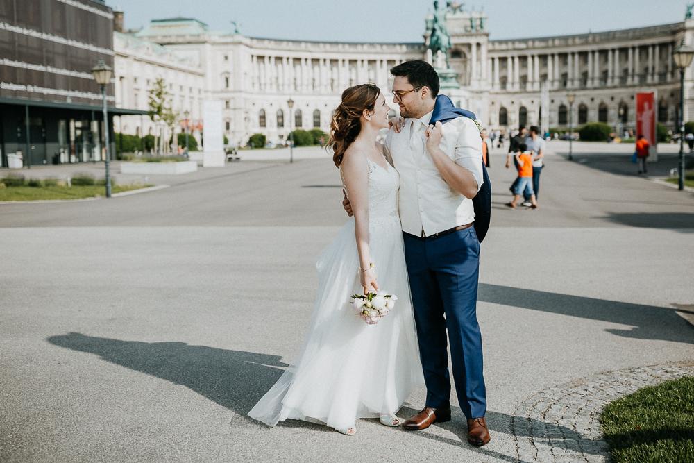 Hochzeit in Wien - Ein Spaziergang durch Wien