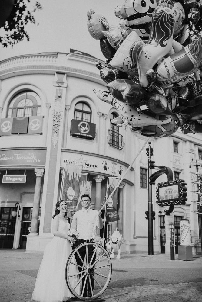 Hochzeit in Wien - Riesenrad
