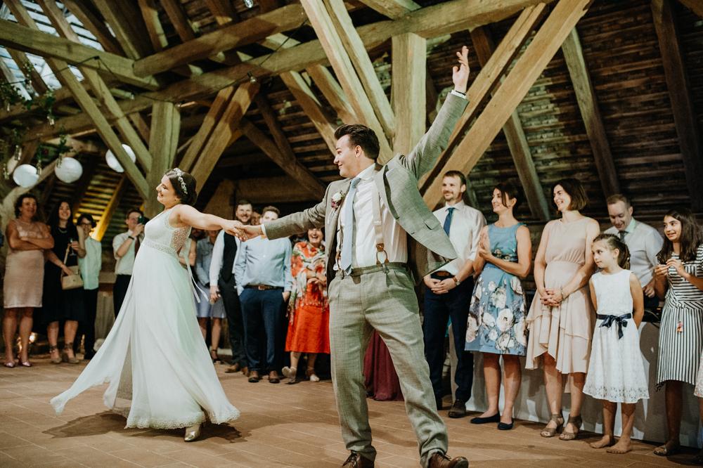 Vintage Hochzeit Tanz Hochzeitspaar
