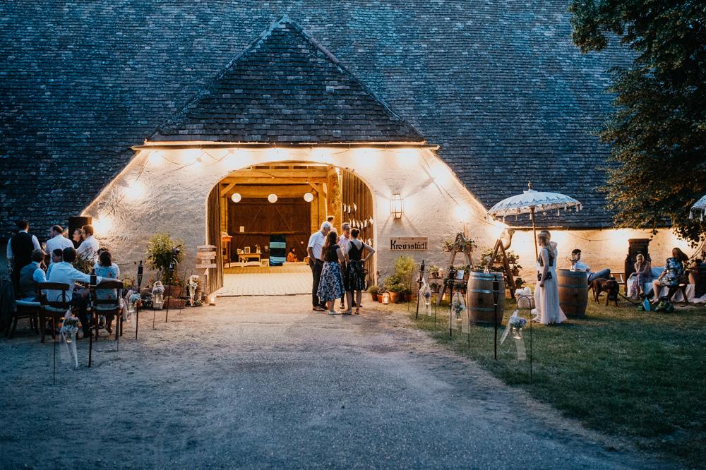 Vintage Hochzeit im Stadl