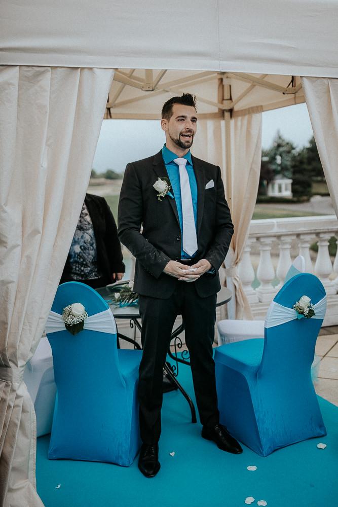 Einzug Hochzeit Braut