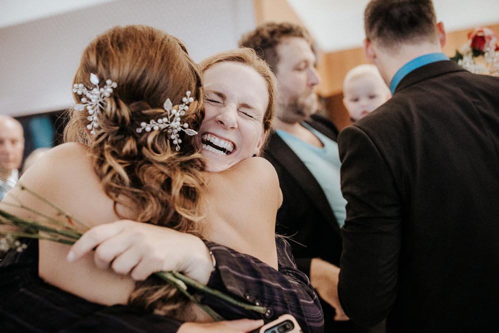 Emotionen bei Hochzeit im Fontana Golfresort