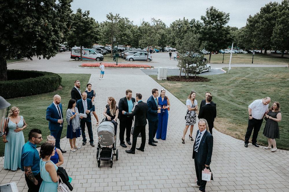 Hochzeit Empfang im Fontana Golfresort
