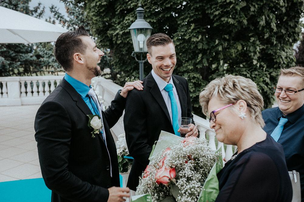 Empfang Gast Hochzeit im Fontana Golfresort