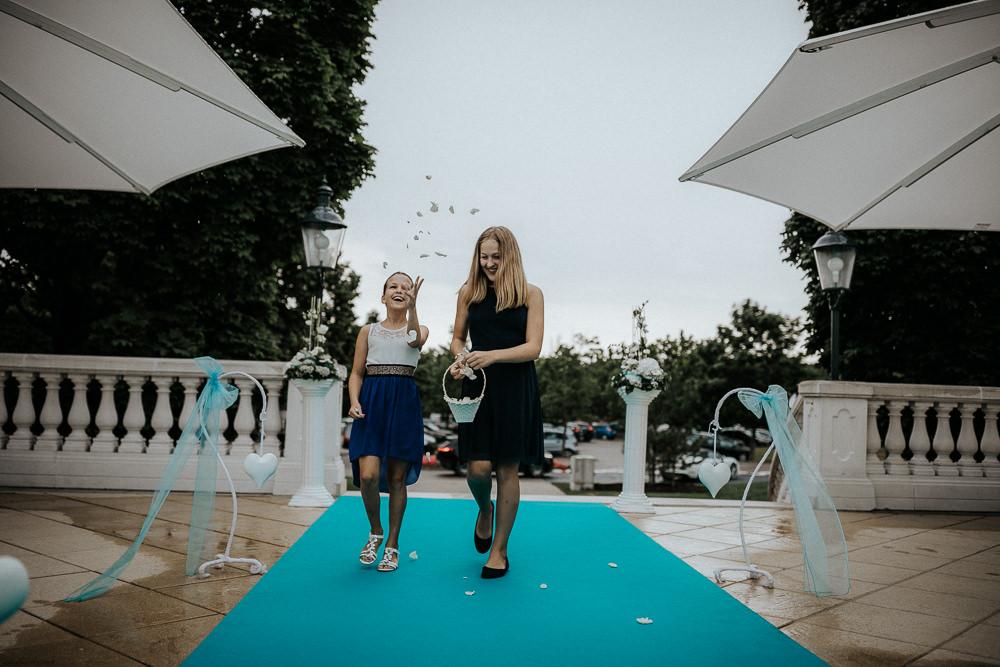 Hochzeit Fontana Golfresort Einzug