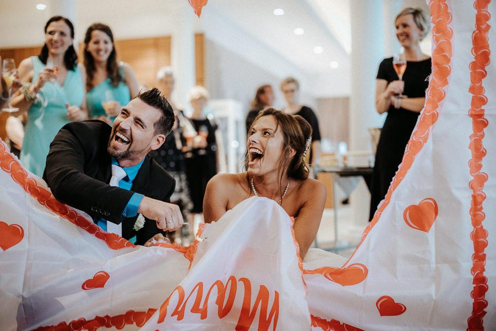 Spass Hochzeit Fontana