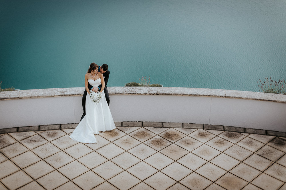 Paarshootin Hochzeitsfotos Golfresort Fontana