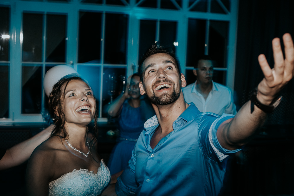 Reportage am Hochzeitstag mit Hochzeitstanz