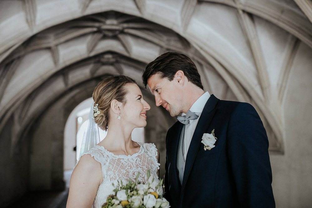 Hochzeitsfotos im Schloss Guntersdorf