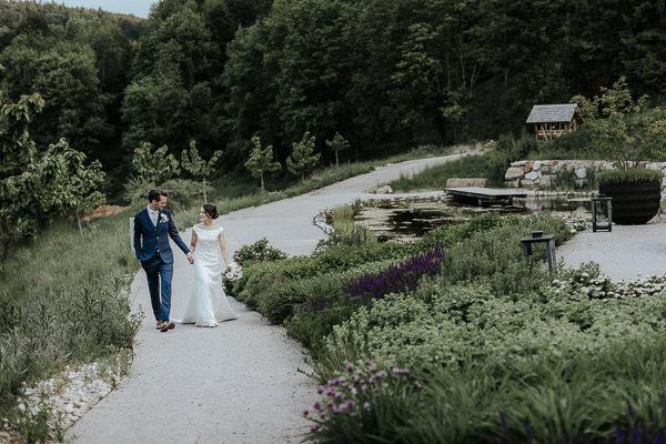 Hochzeitsbilder am Hochzeitstag Refugium Hochstrass