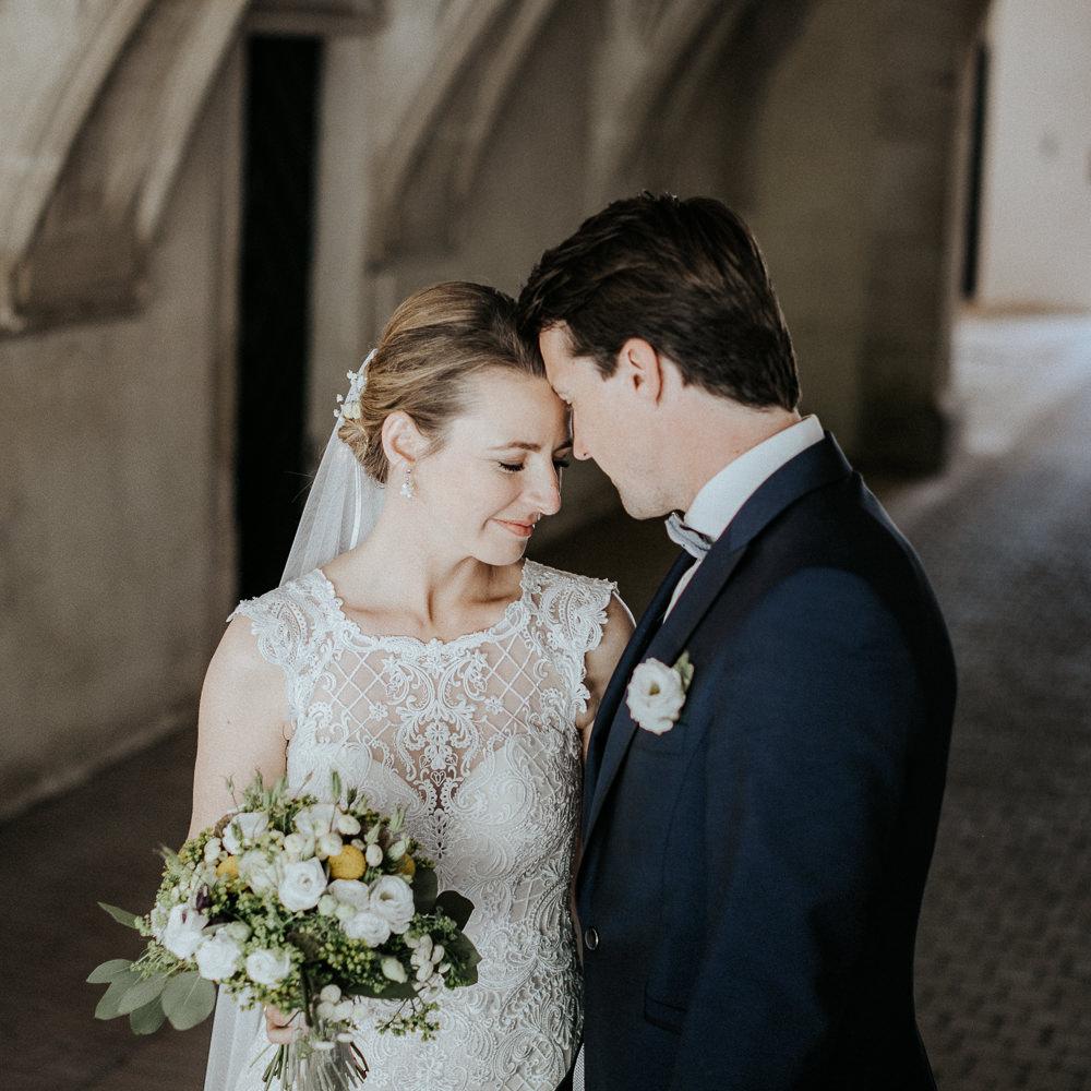 Schloss Guntersdorf Hochzeitsshooting am Hochzeitstag