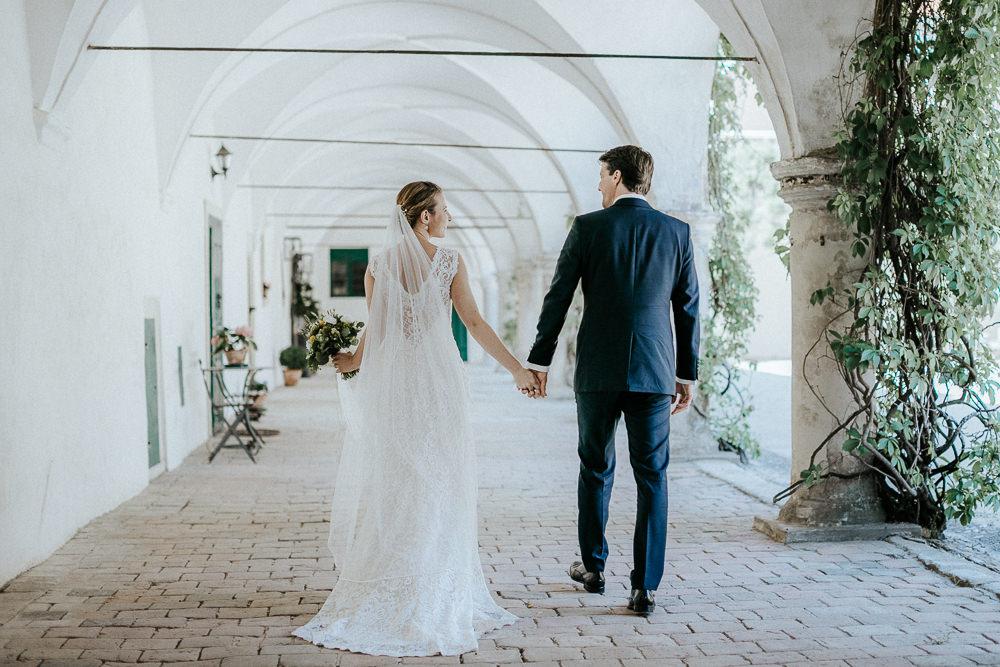 Hochzeitsshooting am Hochzeitstag in Schloss Guntersdorf