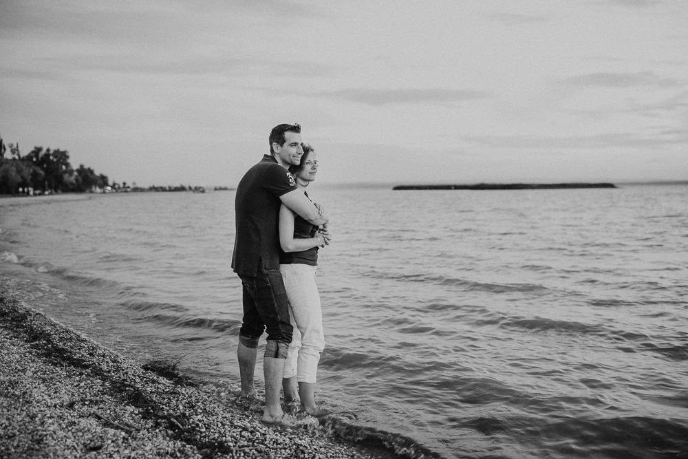 Sunset Engagement Shooting Fotograf