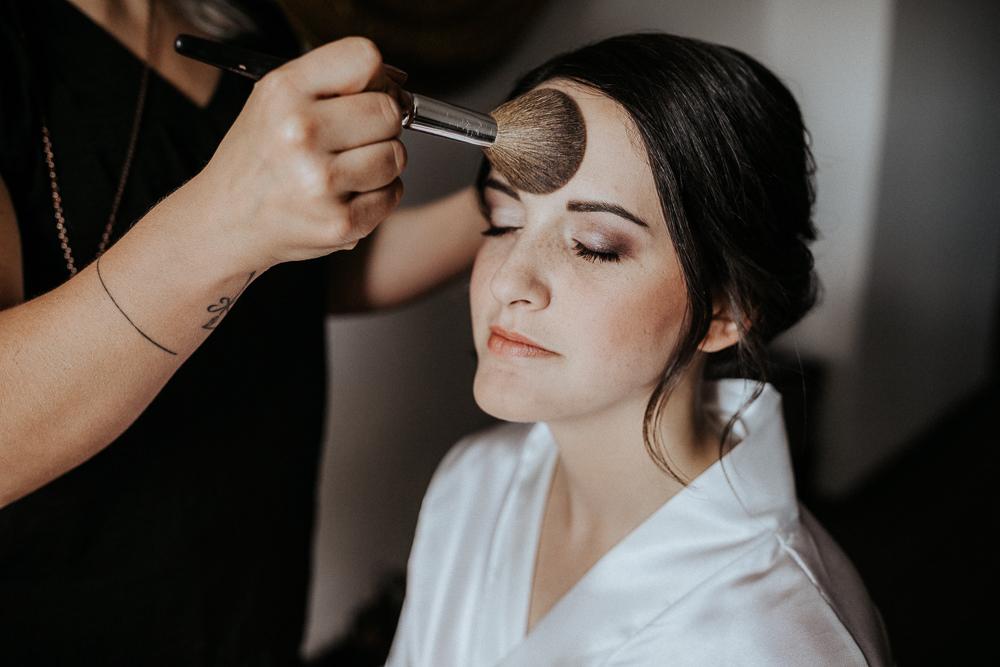 Hochzeitsbilder beim Getting Ready
