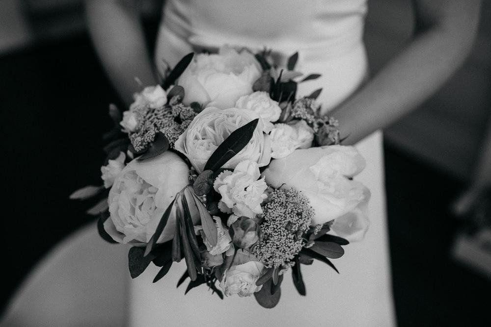 Hochzeitsstrauss am Hochzeitstag